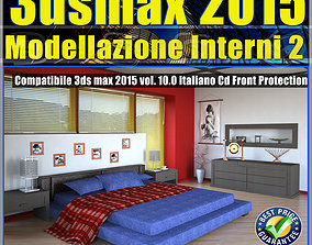 3ds max 2015 Modellazione Interni 2 v 10 cd front
