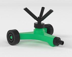 360 Degree Autorotation Sprinkler 3D
