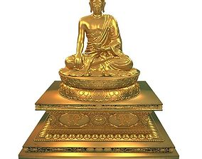 3D model Thai Buddha2