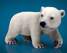 3D model POLAR BEAR BABE