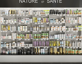 Large set of cosmetics Showcase 6 3D