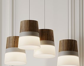 3D SMOOTH TAPERED LINE PENDANT By Lightology Collection