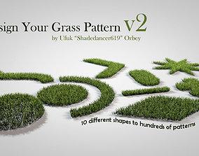 Grass Patterns v2 3D