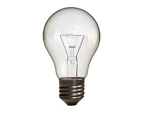 Light Bulb 3D model interior