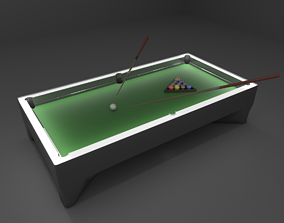 3D model Billard Table