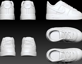 Nike air Force 1 baby shoes for 3d print