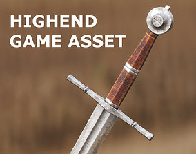 Medieval Sword for Games and Cinematics 03 3D model