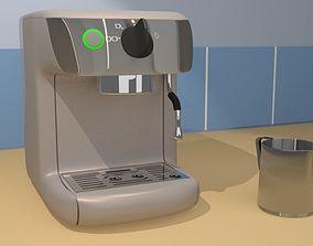 Coffee Espresso Machine 3D