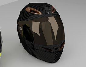 Helmet agv 70 anniversary 3D model