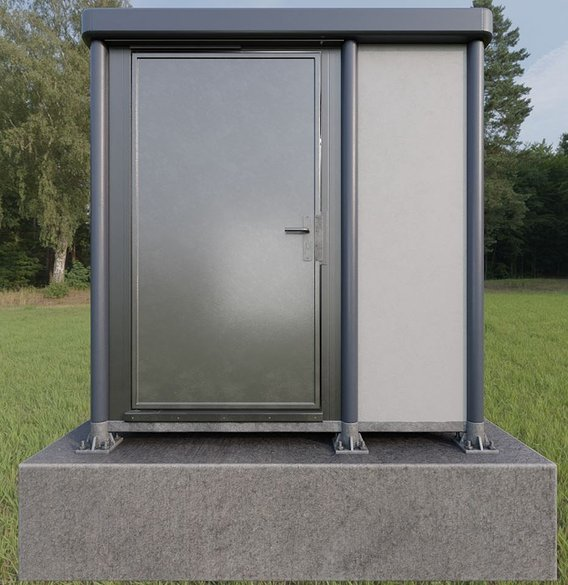 Public Toilet Version 3 (Blender-2.93 Cycles Render)