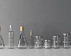 Lab Glassware 3D model