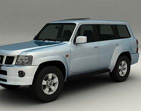 3D model Nissan Patrol