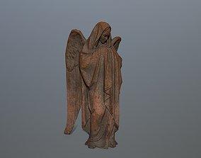3D model Angel Statue 01