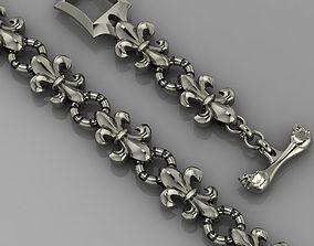 jewel jewelry 3D printable model bracelet