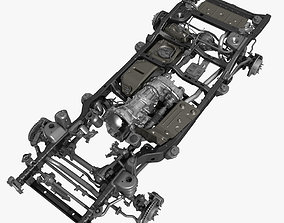 Car Chassis 3D