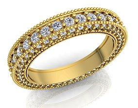 jewellery sterling Woman Diamond Ring 3d Model Print