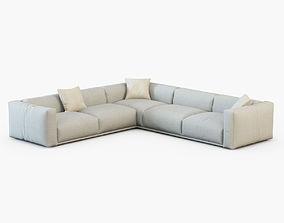 Sofa Bolton-Poliform 3D model