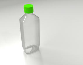 Plastic Bottle 3 3D model