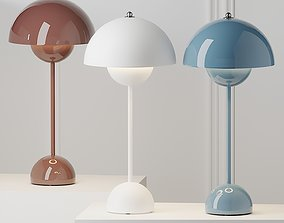 FlowerPot VP3 Table Lamp by Tradition 3D model