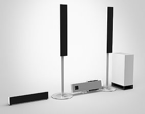 3D model Sony Bravia Home Theater