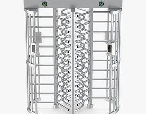 3D model Turnstile Dual Gate Full Height