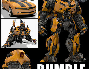 Bumblebee Forever - 3d animated model animated