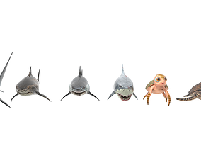 game-ready Sea Models