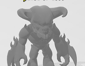 3D printable model doom toy baron of hell