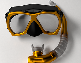 3D Snorkel and Mask