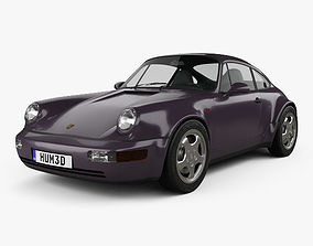 3D Porsche 911 Carrera 4 Coupe 964 Turbolook 30th 1