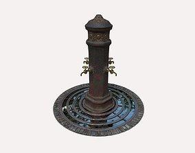3D Drinking Fountain