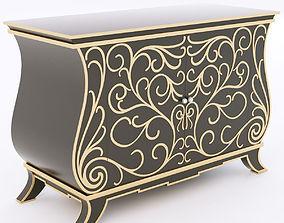 Roberto Ventura W114 chest of drawers 3D model