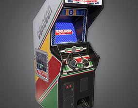 Arcade Cabinet 04 - RAC - PBR Game Ready 3D asset