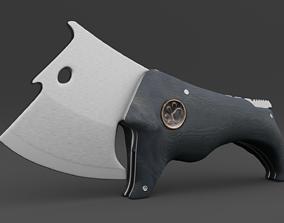 3D dog-like knife