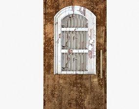 3D model Old medieval door