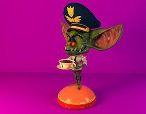 Gremlin pilot character 3D print model