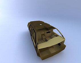1998 Infiniti Qx4 Interior 3D