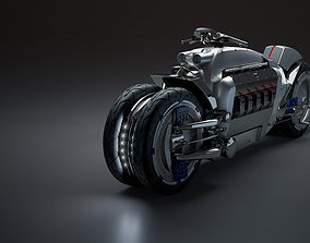 3D model tomahawk Dodge Tomahawk