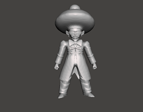 Android 15 Dragon Ball 3D Model