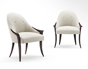 3D Christopher Guy Especial dining chair