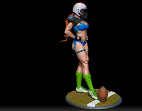3D print model miniatures football