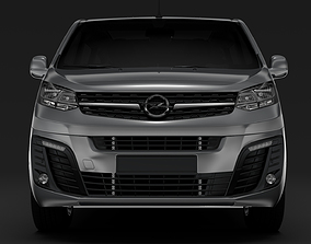 Opel Zafira Life L3 2019 3D model