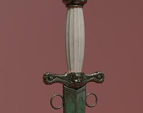 3D model Ceres Dagger