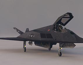 Stelth F-117 Night Hawk 3D asset