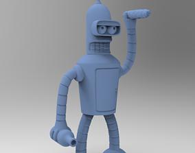 BENDER B RODRIGUEZ FUTURAMA 3D print model