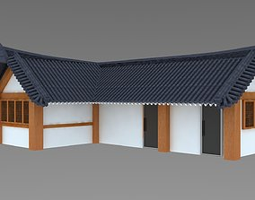 Hanok korean style house 3D