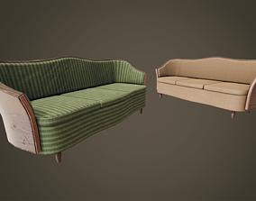 3D model Vintage Sofa