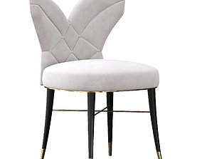 3D model Luna dining chair