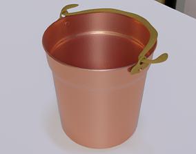 3D model Miniature Copper Bucket