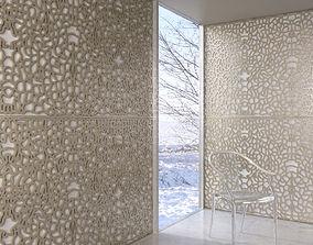 3D model wall panel 001 AM147